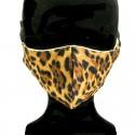 Mascarilla Adulto Leopardo