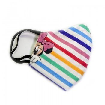 Mascarilla Infantil Multicolor Minie