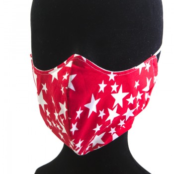 Mascarilla Adulto Red Star