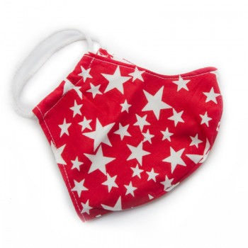 Mascarilla Infantil Red Star