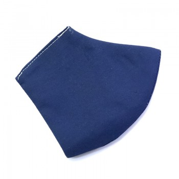 Mascarilla Infantil color azul marino