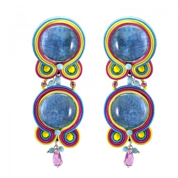 Pendientes Soutache Pastel Dreams