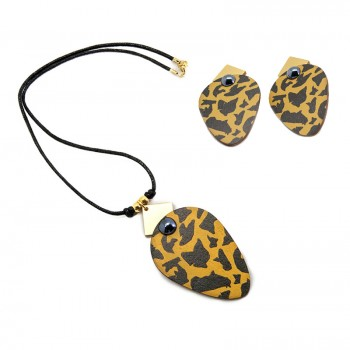 Conjunto Leopard Skin