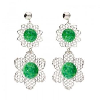 Pendientes Cindirella Green
