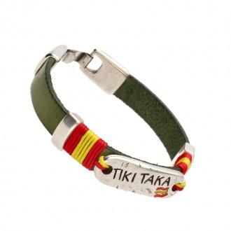 Pulsera de Cuero Tiki Taka