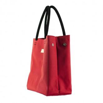 Bolso Samoa Shopping Rojo