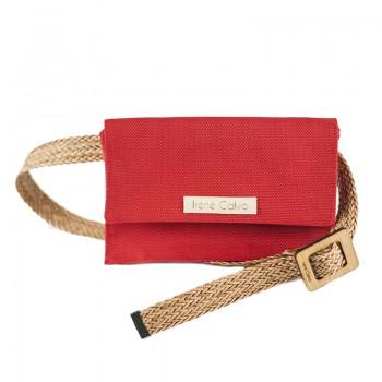 Bolso de Cintura Mae Rojo