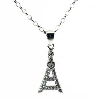 Gargantilla Plata de Ley Love Paris